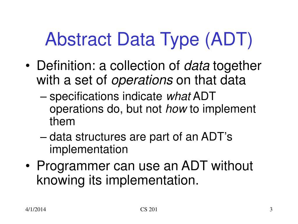 ppt - cs201  data structures and discrete mathematics i powerpoint presentation