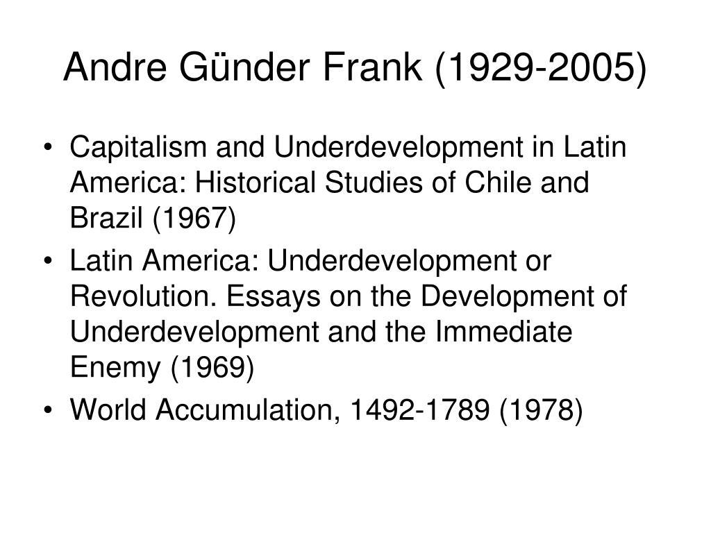 Andre Günder Frank (1929-2005)