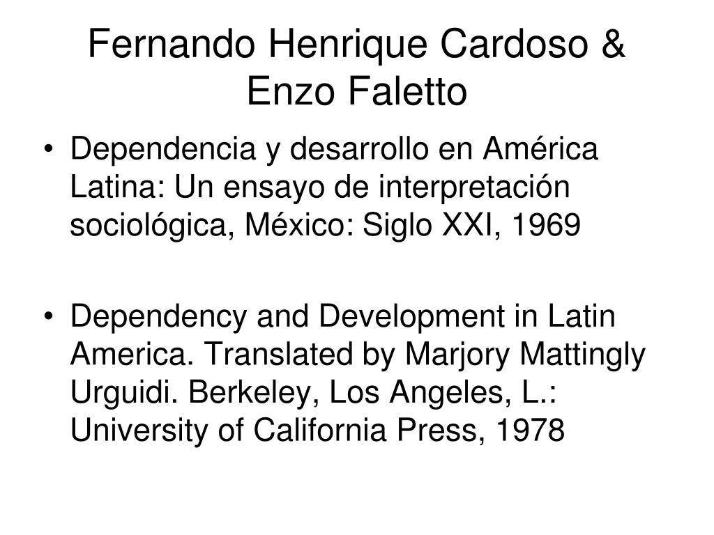 Fernando Henrique Cardoso & Enzo Faletto