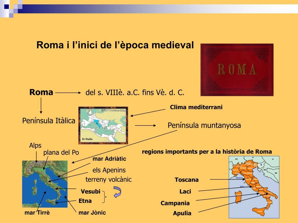 Roma i l'inici de l'època medieval