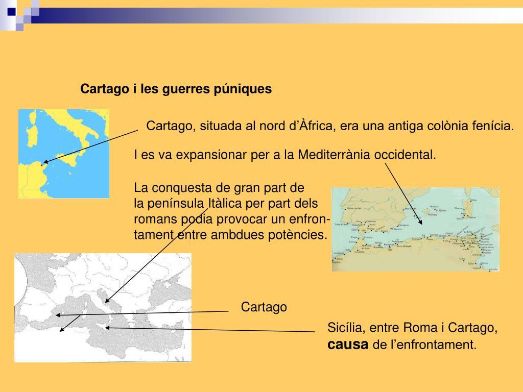 Cartago i les guerres púniques