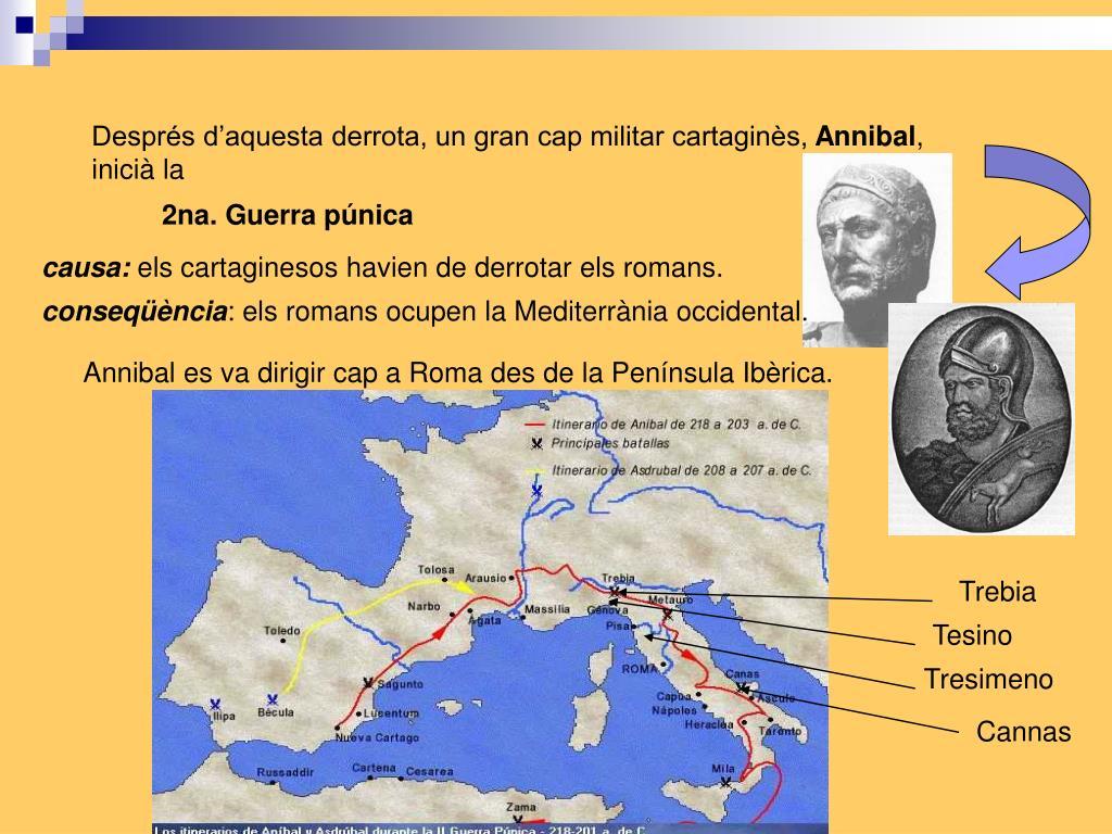 Després d'aquesta derrota, un gran cap militar cartaginès,
