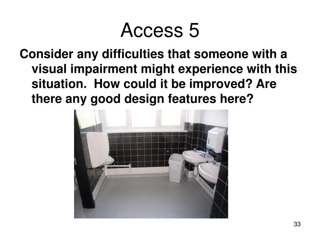 Access 5