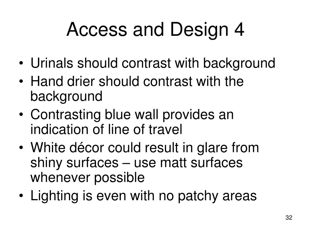 Access and Design 4