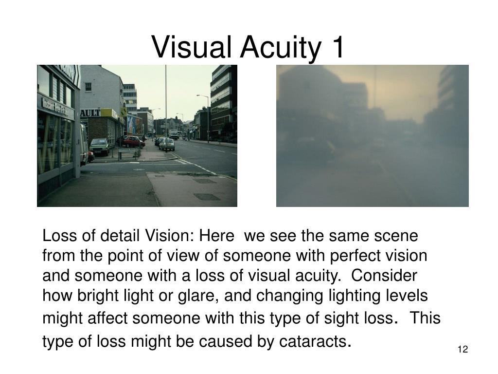 Visual Acuity 1