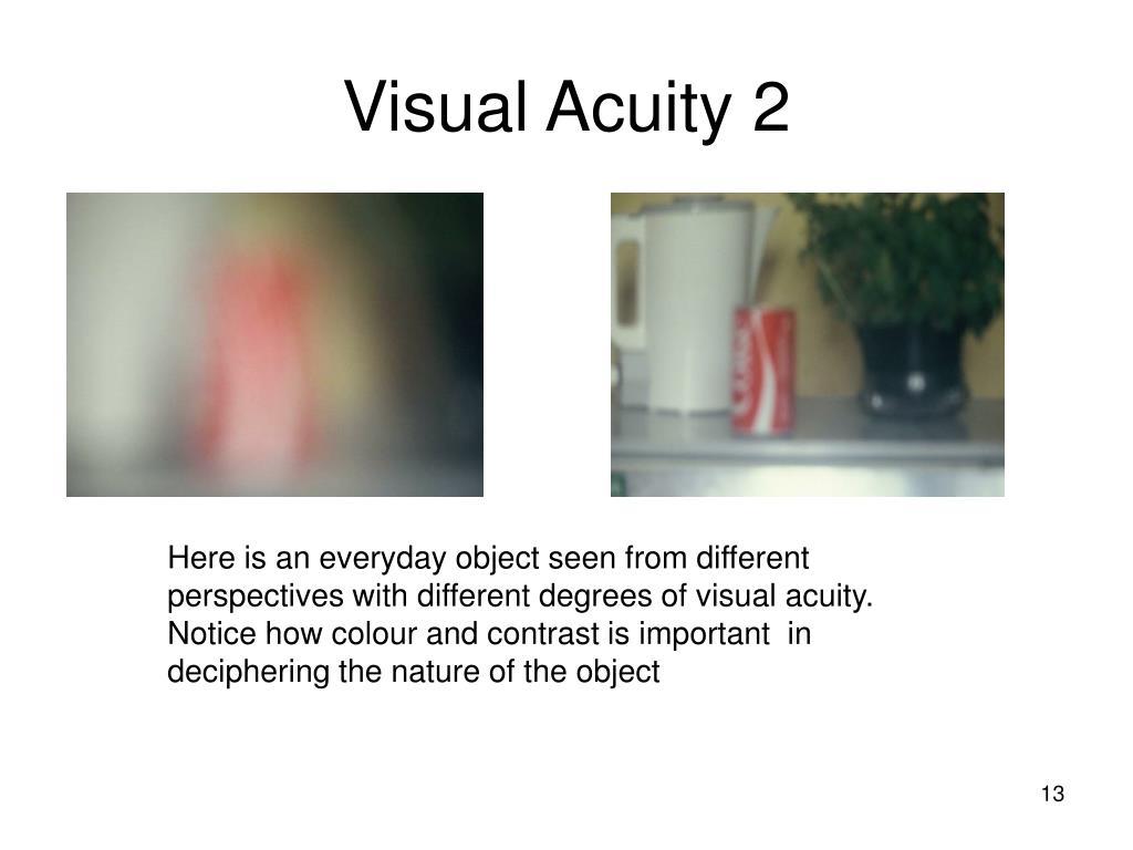 Visual Acuity 2