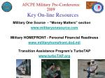 key on line resources