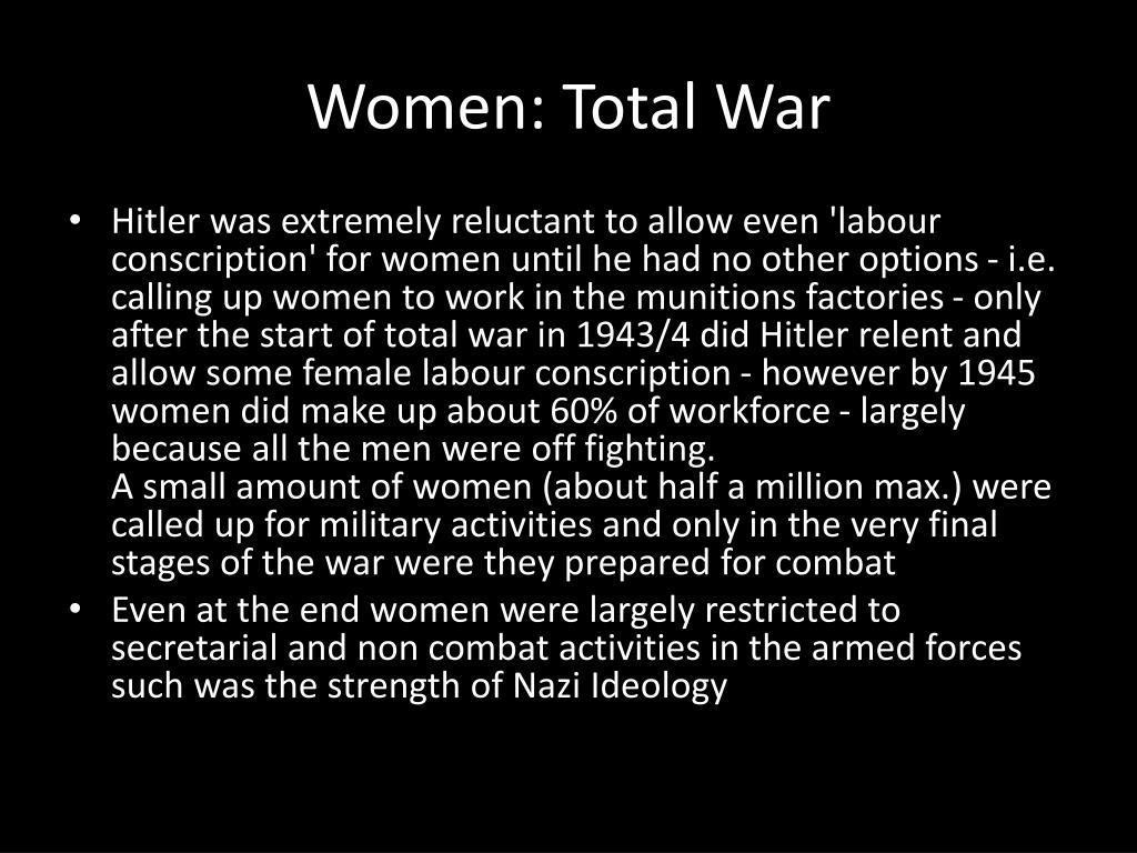 Women: Total War
