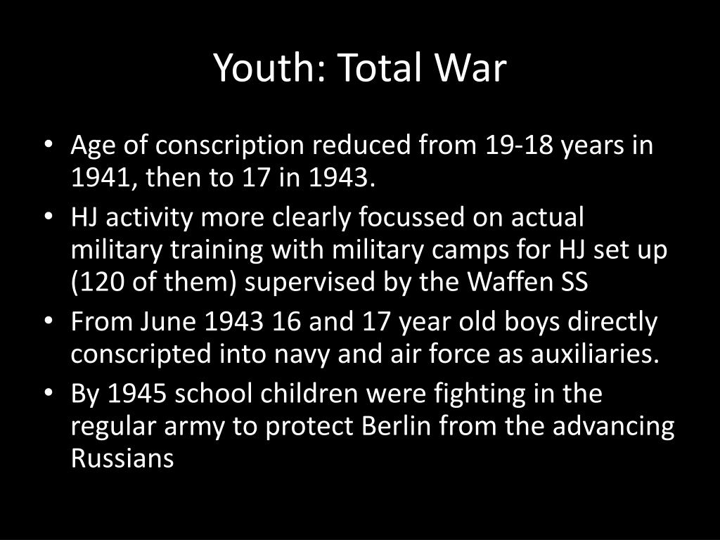 Youth: Total War