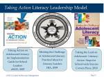 taking action literacy leadership model19