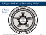 taking action literacy leadership model41