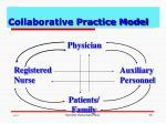 collaborative practice model