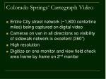 colorado springs cartegraph video