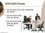 year long process