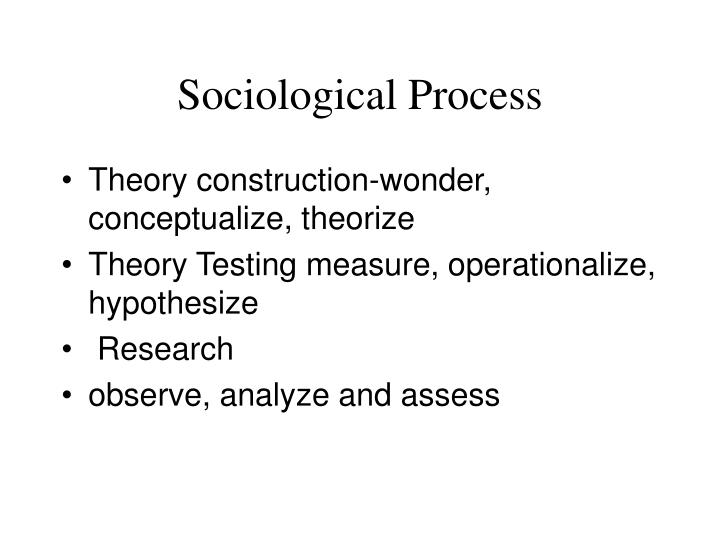 Sociological Process