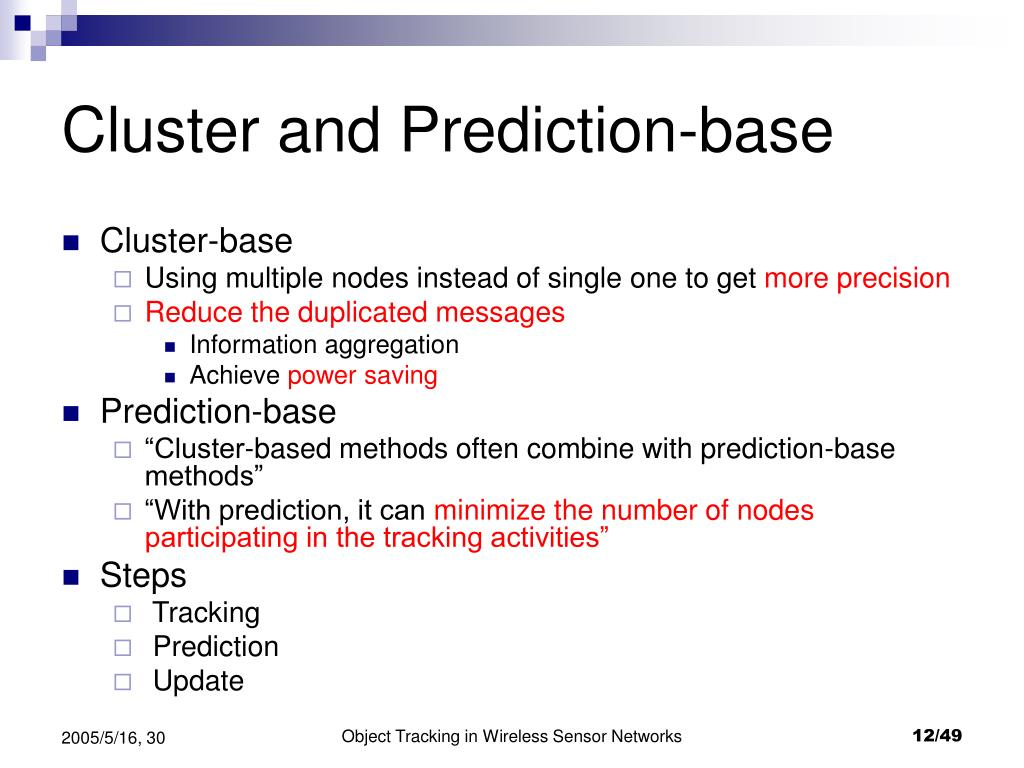 Cluster and Prediction-base