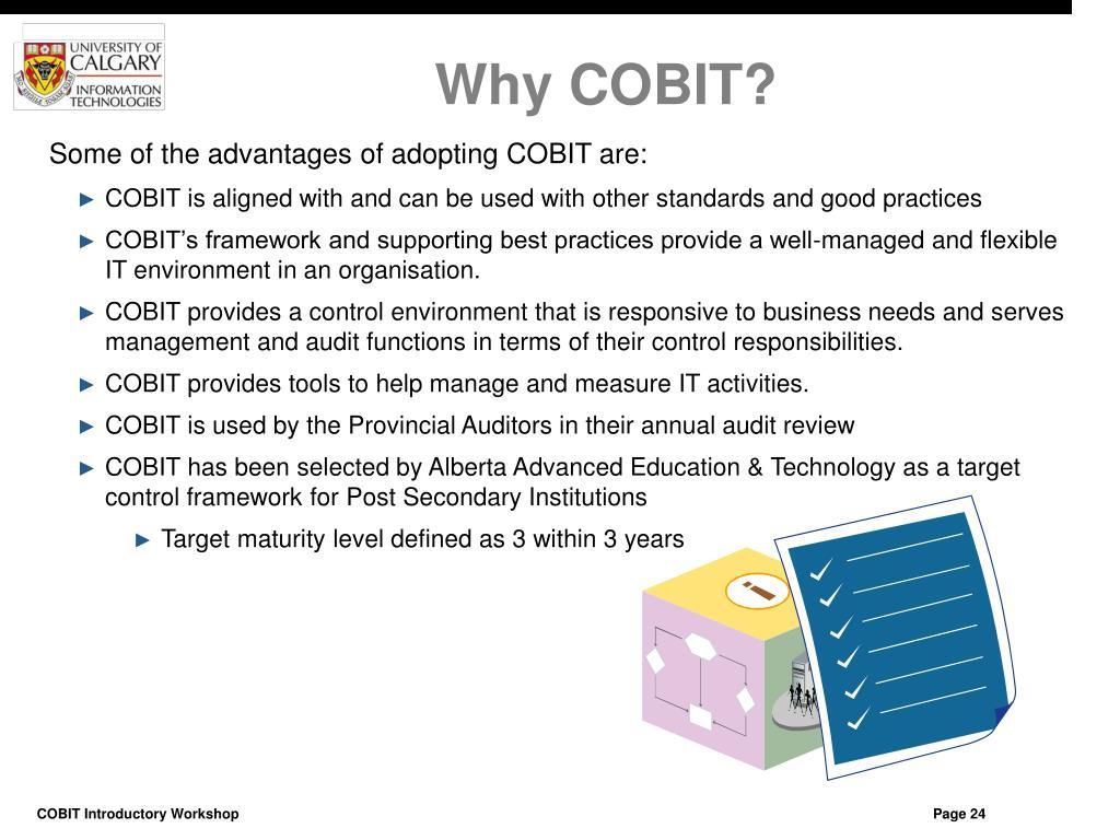Why COBIT?