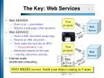 the key web services