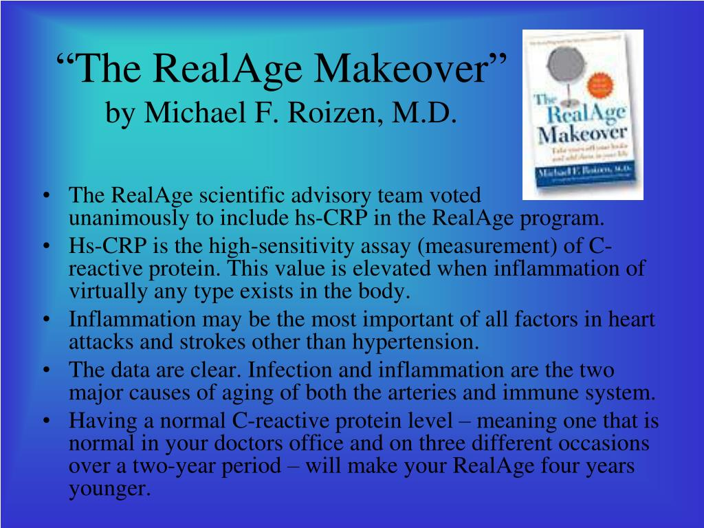"""The RealAge Makeover"""