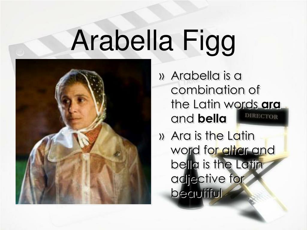 Arabella Figg