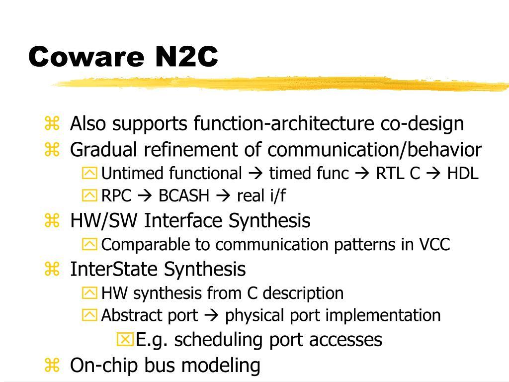 Coware N2C