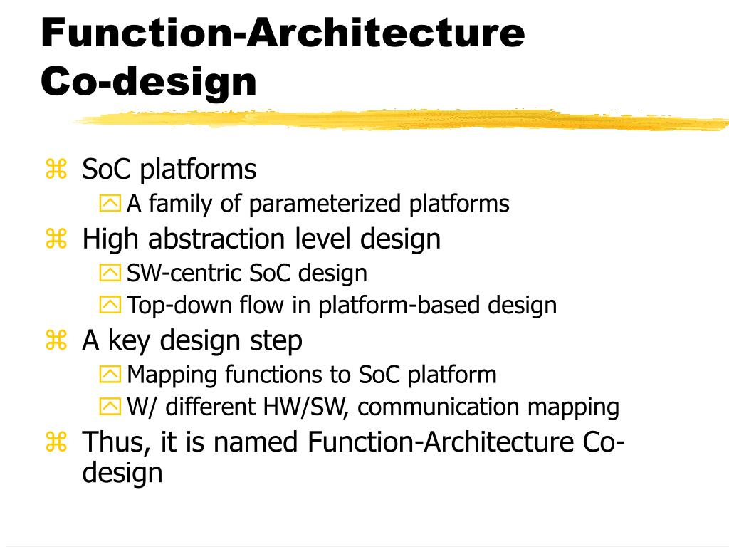 Function-Architecture