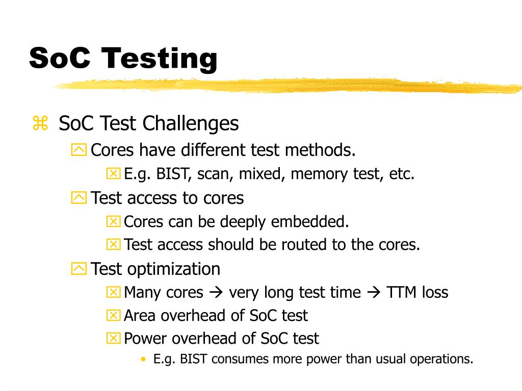 SoC Testing