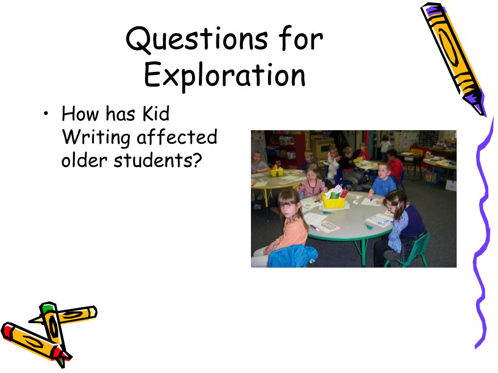 Questions for Exploration