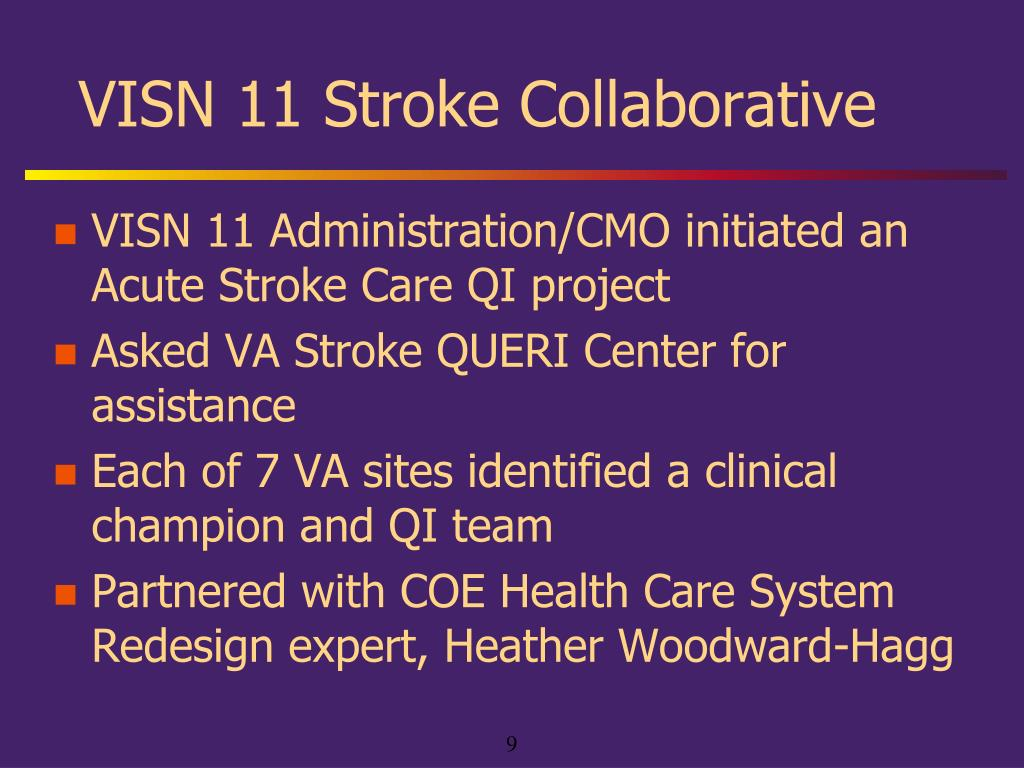 VISN 11 Stroke Collaborative