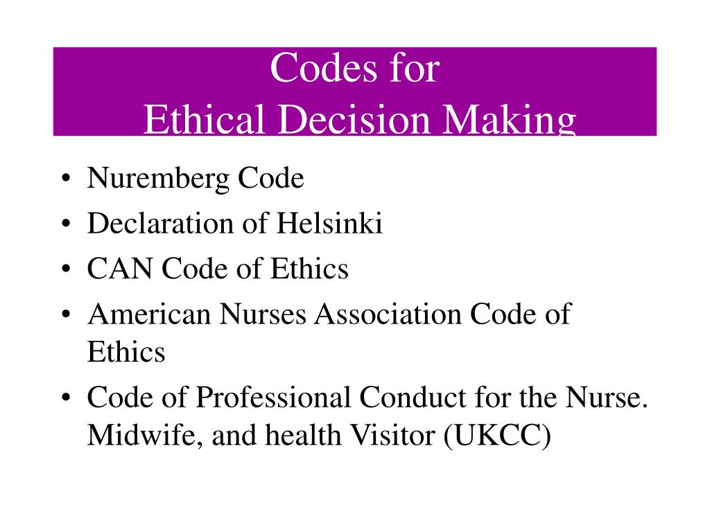 nursing and midwifery board codes and