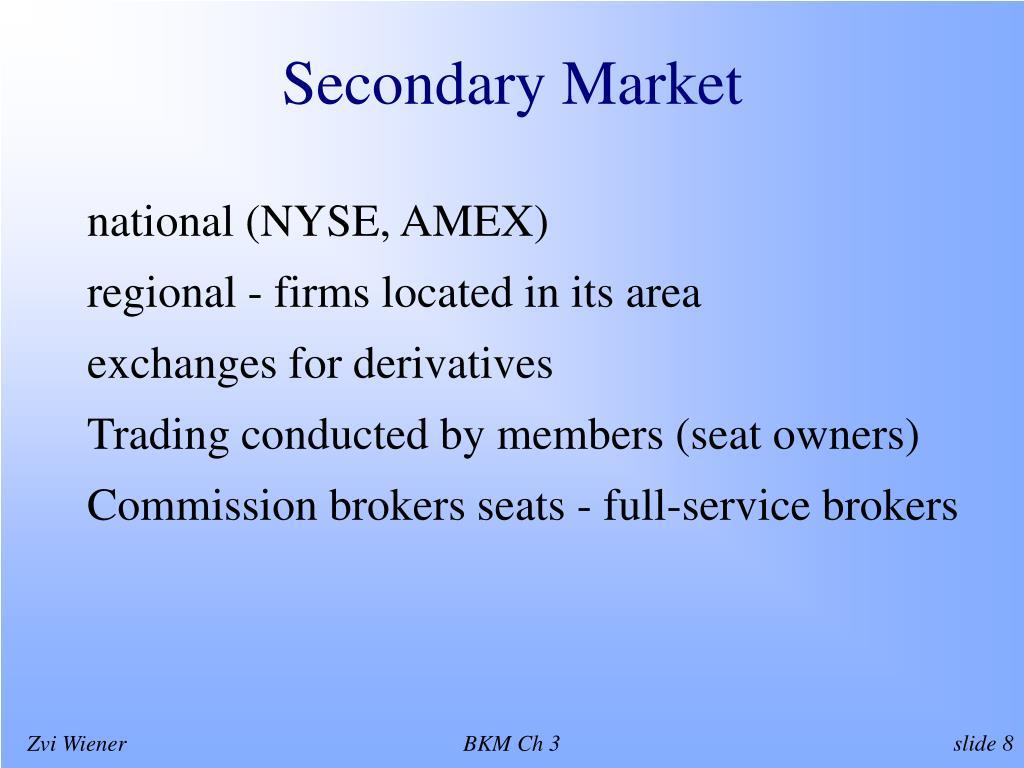 Secondary Market