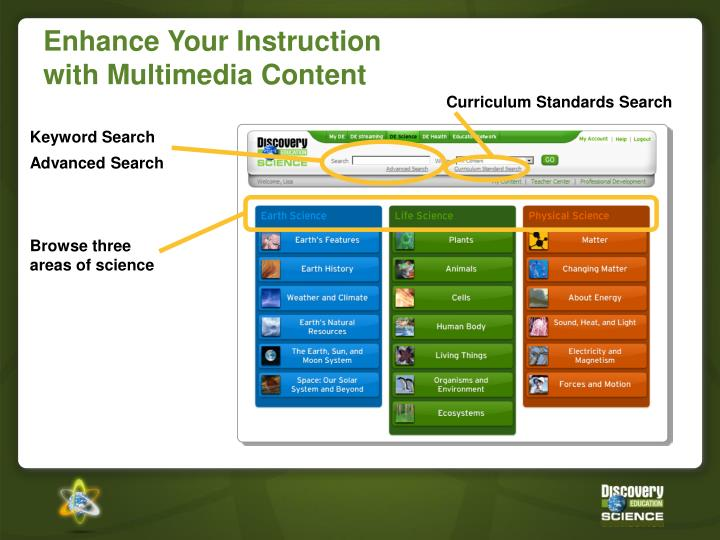 Curriculum Standards Search