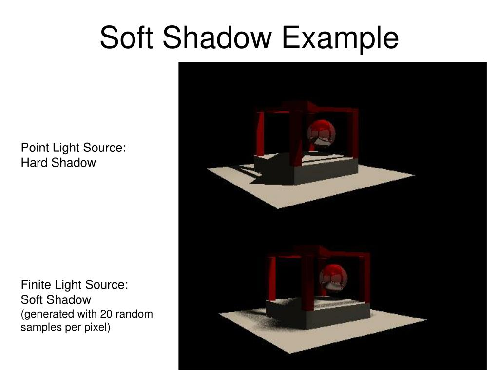 Soft Shadow Example