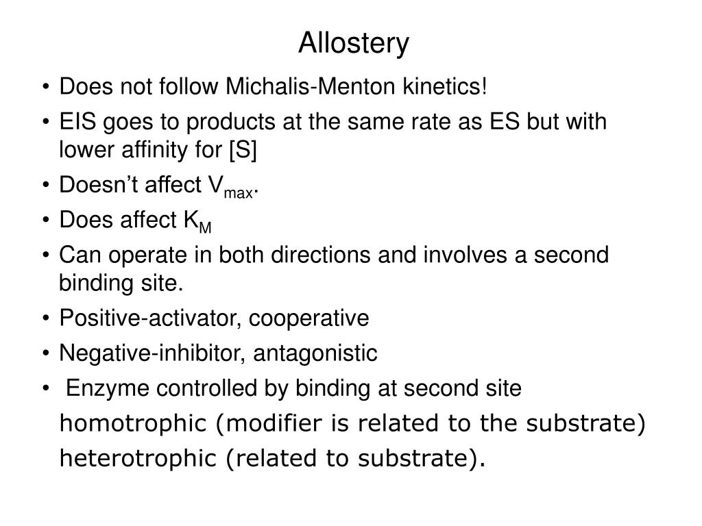 Allostery