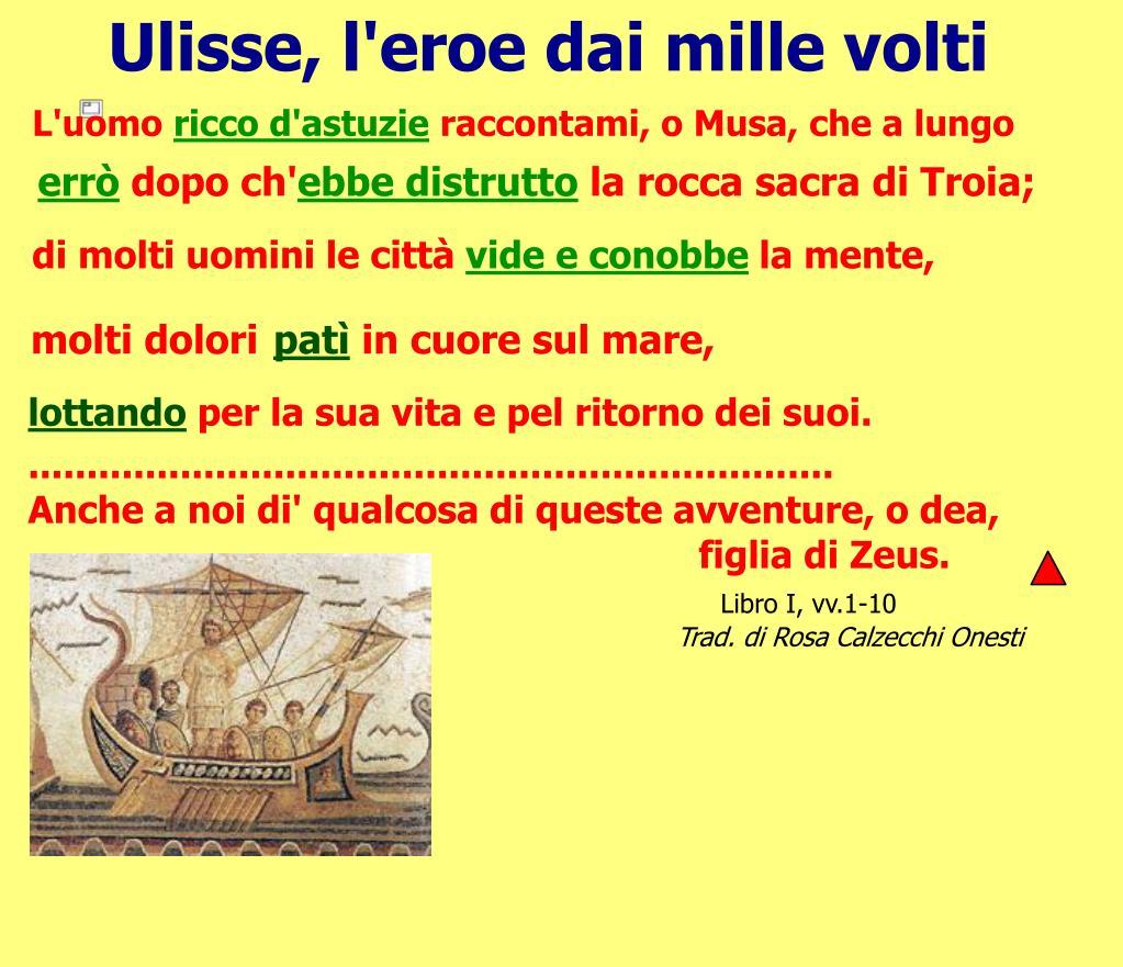 Ulisse, l'eroe dai mille volti