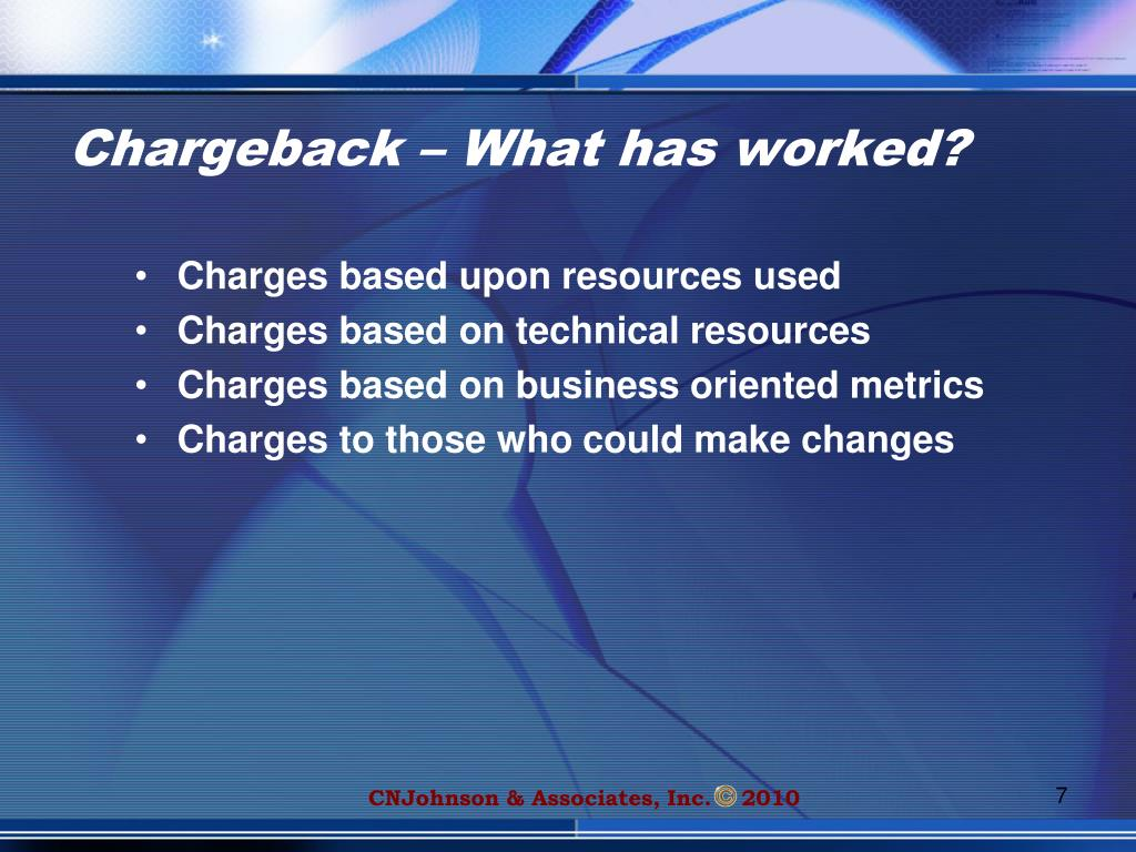 Chargeback – What has worked?