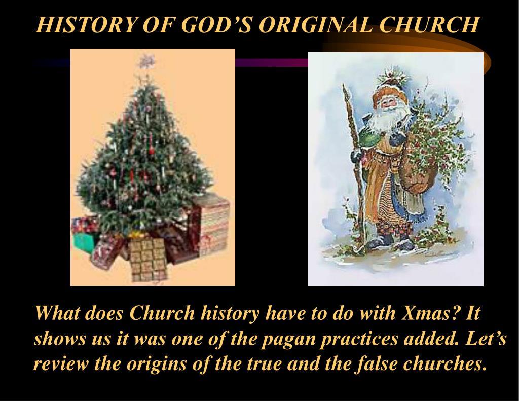 history of god s original church