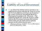 liability of local government48