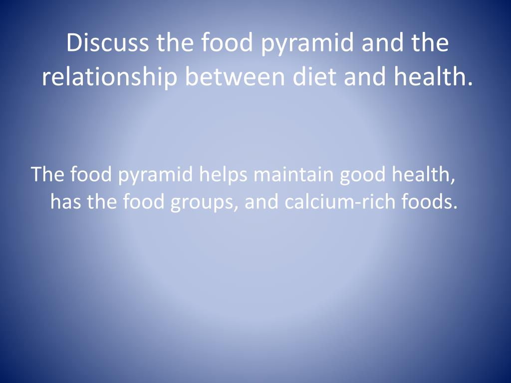 The Complex Relationship Between Diet And Health