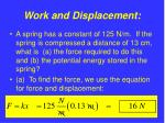 work and displacement11