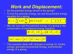 work and displacement12