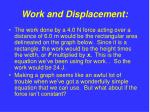 work and displacement6
