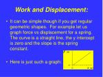 work and displacement8