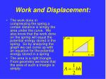 work and displacement9