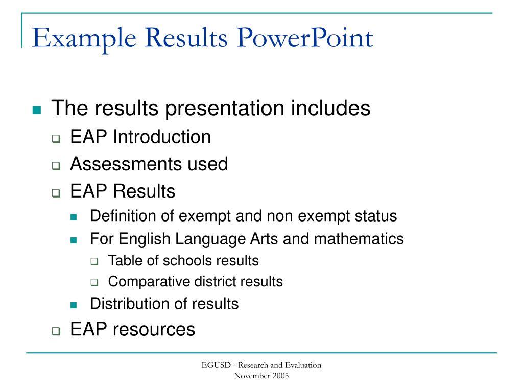 ppt california state university early assessment program powerpoint