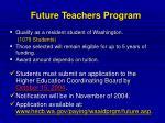 future teachers program13