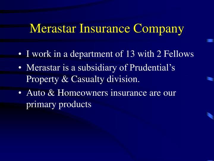 Merastar Insurance Company