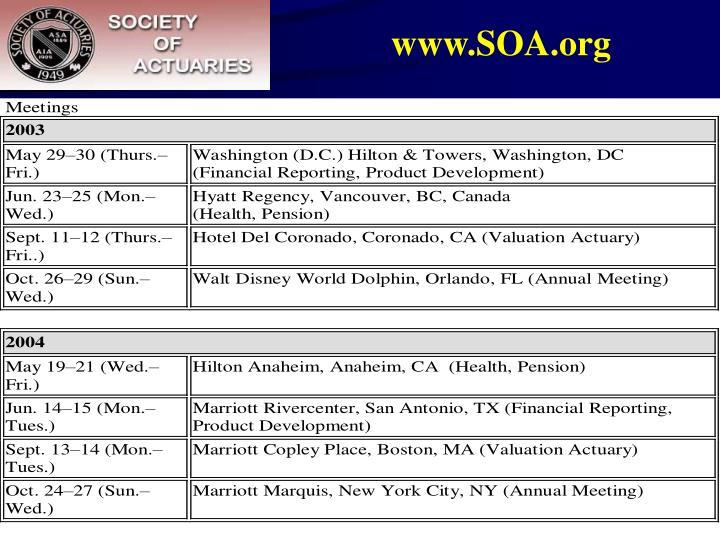 www.SOA.org