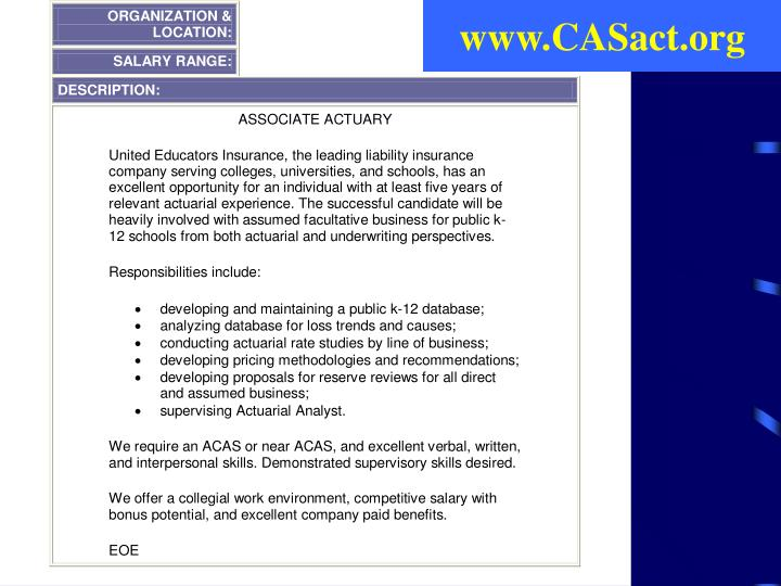 www.CASact.org