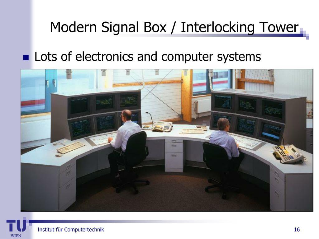 Modern Signal Box / Interlocking Tower